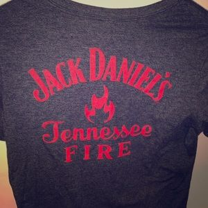 Jack Daniels Tennessee Fire graphic tee